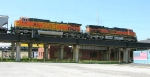 BNSF 1057 and 4193